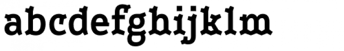 Leto Two Condensed Bold Font LOWERCASE