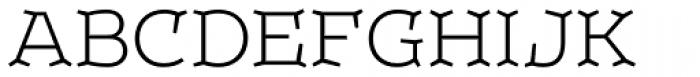 Leto Two Light Font UPPERCASE