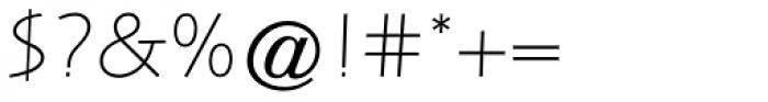 Letraset Arta Std Light Font OTHER CHARS