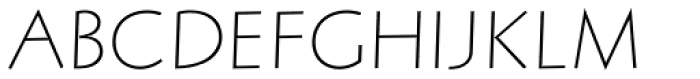 Letraset Arta Std Light Font UPPERCASE