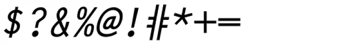Letter Gothic L Medium Italic Font OTHER CHARS