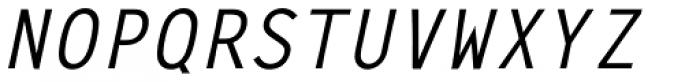 Letter Gothic L Medium Italic Font UPPERCASE