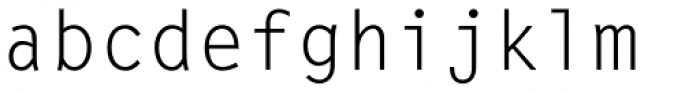 Letter Gothic Std Regular Font LOWERCASE