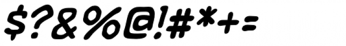 Letterbot Italic Font OTHER CHARS