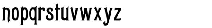 Letterhead Fancy Font LOWERCASE
