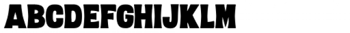 Letterpress Clean Black Font LOWERCASE