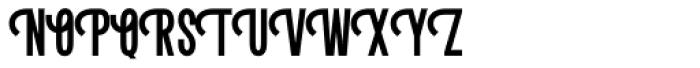 Letterpress Clean Condensed Font UPPERCASE