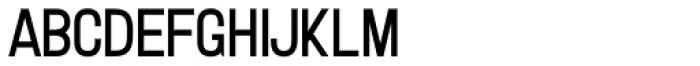 Letterpress Clean Gothic Font LOWERCASE