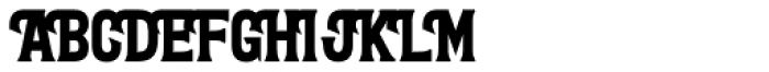 Letterpress Clean Wood Font UPPERCASE