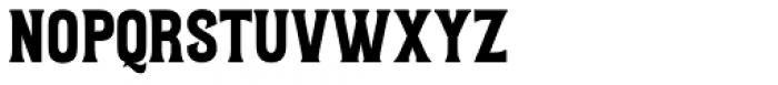 Letterpress Clean Wood Font LOWERCASE