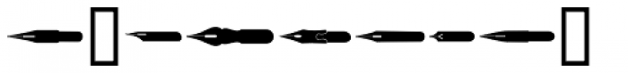 Letterpress Extras JNL Font OTHER CHARS