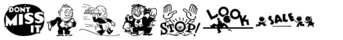 Letterpress Goodies JNL Font LOWERCASE