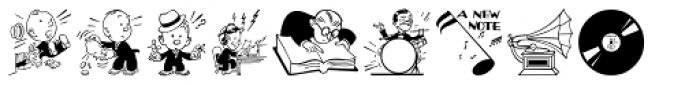 Letterpress Helpers JNL Font LOWERCASE