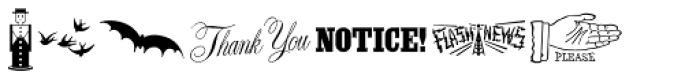 Letterpressers JNL Font UPPERCASE