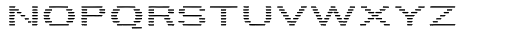 Letterstitch Plain Light Font UPPERCASE