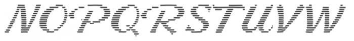 Letterstitch Script Light Font UPPERCASE