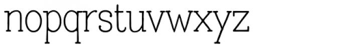 Lettre Font LOWERCASE