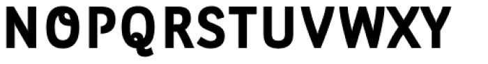 Leuk Black Font UPPERCASE