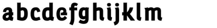 Leuk Black Font LOWERCASE