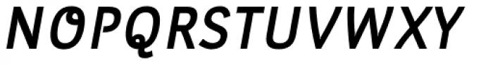 Leuk Bold Italic Font UPPERCASE