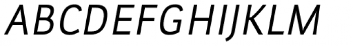 Leuk Italic Font UPPERCASE