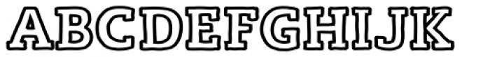 Lev Handdrawn Handline Bold Font UPPERCASE