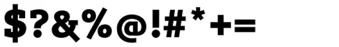 Lev Serif Black Font OTHER CHARS