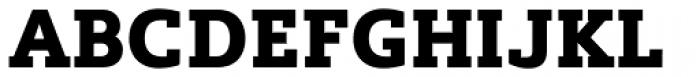 Lev Serif Black Font UPPERCASE