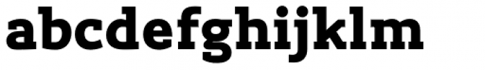 Lev Serif Black Font LOWERCASE