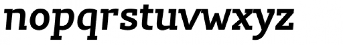 Lev Serif Bold Italic Font LOWERCASE