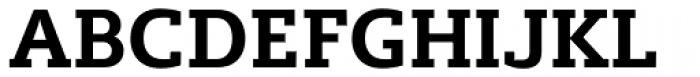 Lev Serif Bold Font UPPERCASE