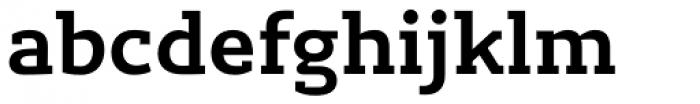 Lev Serif Bold Font LOWERCASE