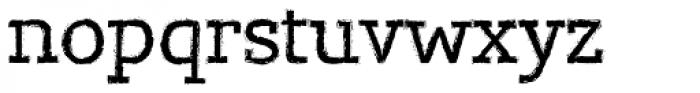 Lev Serif Grunge Font LOWERCASE