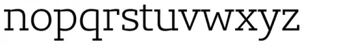 Lev Serif Light Font LOWERCASE
