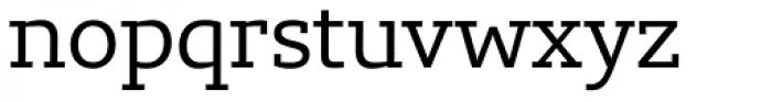 Lev Serif Regular Font LOWERCASE
