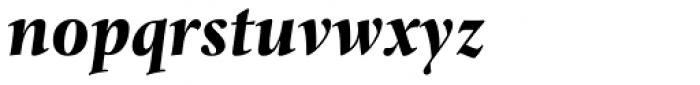 Levato Pro Black Italic Font LOWERCASE