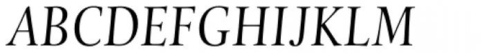 Levato Pro Italic Font UPPERCASE