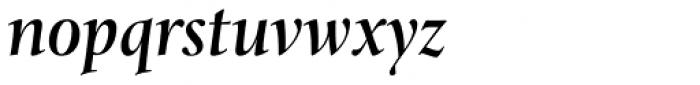Levato Pro Medium Italic Font LOWERCASE