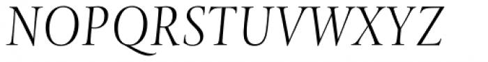Levato Std Light Italic Font UPPERCASE