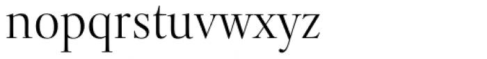 Levato Std Light Font LOWERCASE