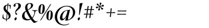 Levato Std Medium Italic Font OTHER CHARS