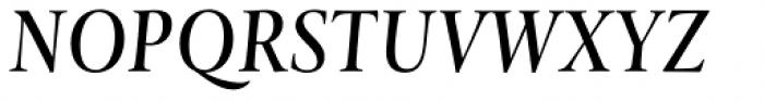 Levato Std Medium Italic Font UPPERCASE