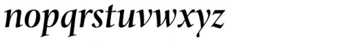 Levato Std Medium Italic Font LOWERCASE