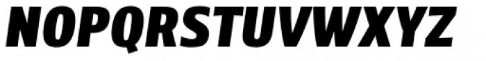 Level Three SC Italic Font UPPERCASE