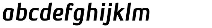 Level Two Italic Font LOWERCASE