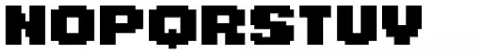 Level Up Font UPPERCASE