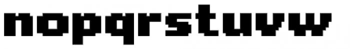 Level Up Font LOWERCASE