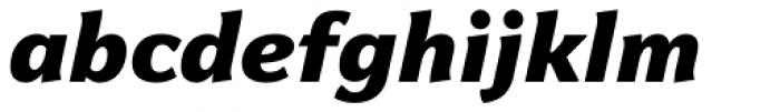 Levnam Black Italic Font LOWERCASE