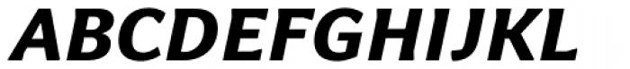 Levnam Extra Bold Italic Font UPPERCASE