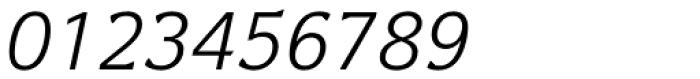 Levnam Light Italic Font OTHER CHARS